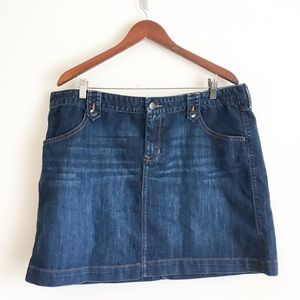 Old Navy Size 18 Jean Skirt